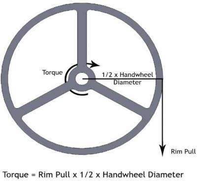 B2AP3 Thumbnail Handwheel Torque
