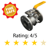 Fire-Safe Direct Mount Flanged Ball Valve Series 190