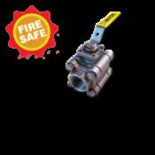 Fire-Safe Threaded Socket Butt Weld Ball Valve Series 480