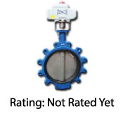 High-Flow Resilient Seated Butterfly Valves
