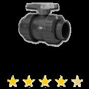 "True Union PVC Ball Valve 4"" Series 350"