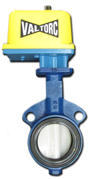 Actuated Butterfly Valve (Electric)