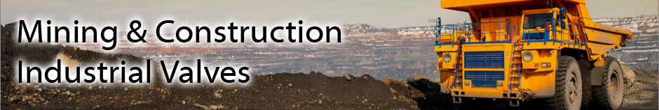 Mining & Construction Industry Valves Top Header