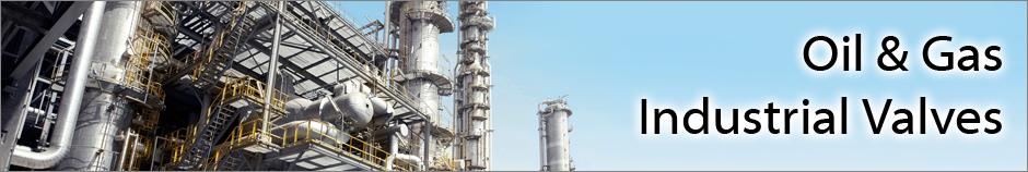 Oil & Gas Industry Valves Top Header