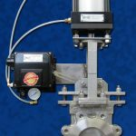 Actuated Knife Gate Positioner