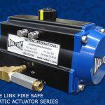 Fusible Link Fire-Safe Pneumatic Actuator