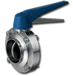Sanitary High-Performance Butterfly Valve 12 Inches