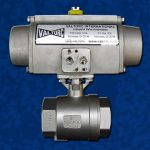 Stainless Steel Pneumatic Actuator With Ball Valve