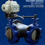 Three-Way Butterfly Valves