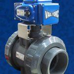 Valtorc Actuated PVC Ball Valve EL Actuation Electric